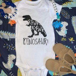 Other - Dinosaur onesie!